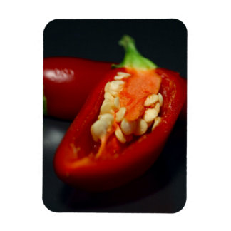 Hot Pepper Rectangular Photo Magnet