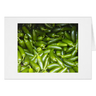 Hot Peppers Note Card