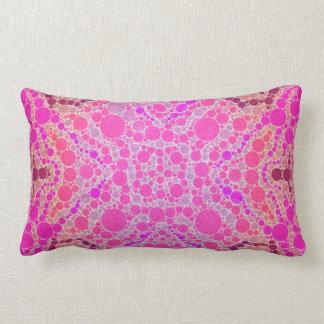 Hot Pink Abstract Pattern Cushions