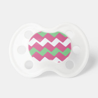 Hot Pink and Green Wavy Chevron Dummy