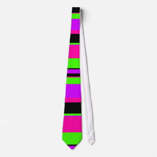 Hot Pink and Purple Tonal Stripes Modern Design Tie