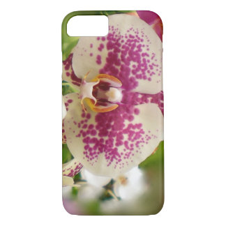 Hot Pink and White Orchid iPhone 8/7 Case