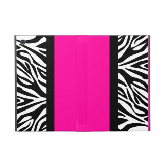 Hot Pink and Zebra Animal Print Case For iPad Mini