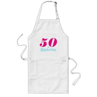 Hot Pink Aquamarine 50 & Beachin Long Apron