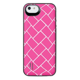 Hot Pink Basket Weave iPhone 6 Plus Case