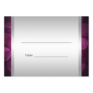 Hot Pink Bat Mitzvah Reception Table Cards Pack Of Chubby Business Cards