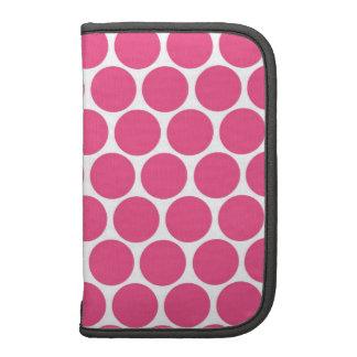 Hot Pink Big Dot Folio Planners