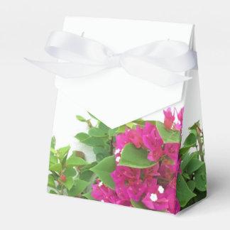 Hot Pink Bougainvillea Favour Box