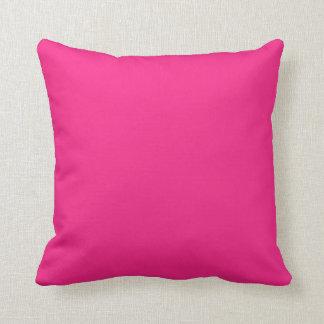 Hot Pink Bright Pink Cushion