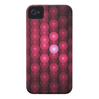 Hot Pink Bubbles, abstract Case-Mate iPhone 4 Case