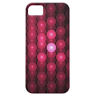 Hot Pink Bubbles, abstract iPhone 5 Cover