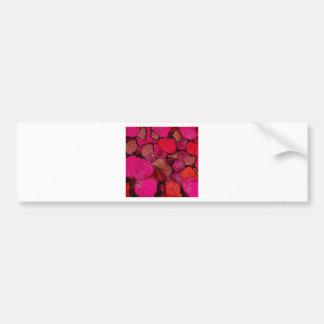Hot Pink Bumper Sticker