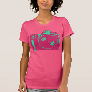 Hot Pink Camera for the Shutterbug T Shirt