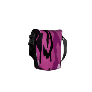 Hot Pink Camo Commuter Bags