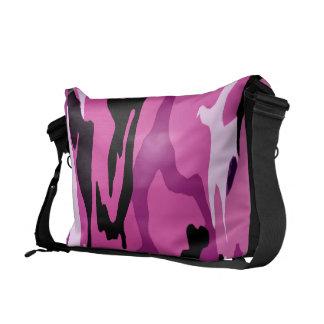 Hot Pink Camo Messenger Bags