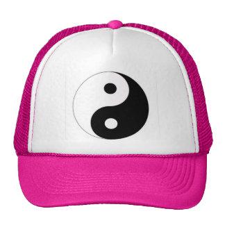 Hot Pink Cap with Yin Yang Trucker Hats