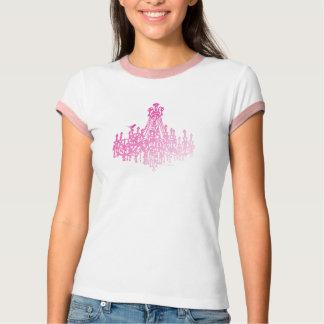 Hot Pink Chandelier T-Shirt
