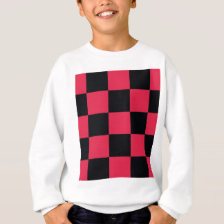 Hot Pink Checkerboard Sweatshirt