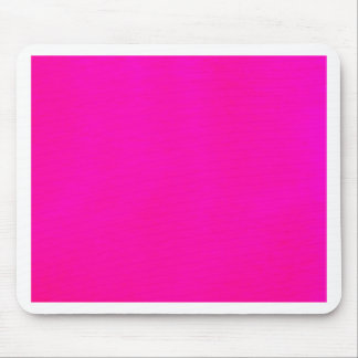 Hot Pink Color Only - The World Without Design Mouse Pad
