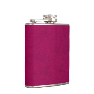 Hot Pink Color Velvet Custom Home Casino Flasks