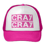 Hot Pink CRAY CRAY Hats