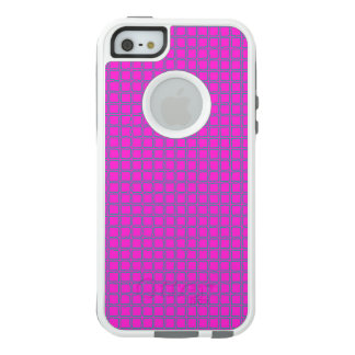Hot Pink Cute Modern Trendy Pattern OtterBox iPhone 5/5s/SE Case