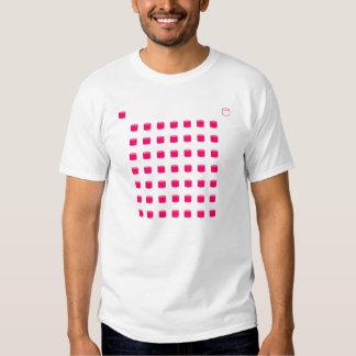 Hot Pink Cylinders Tshirt