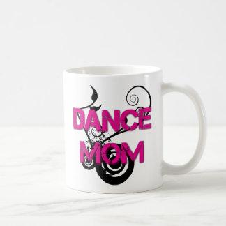 Hot Pink Dance Mom Classic White Coffee Mug