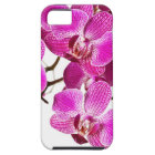 Hot Pink Dendrobium Orchid - Orchids Background Tough iPhone 5 Case
