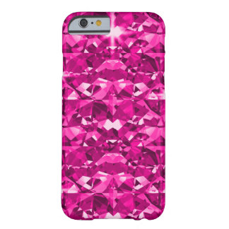 Hot Pink Diamonds Barely There iPhone 6 Case