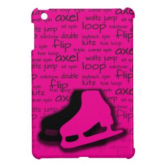 Hot Pink Figure Skating Mini iPad Cover