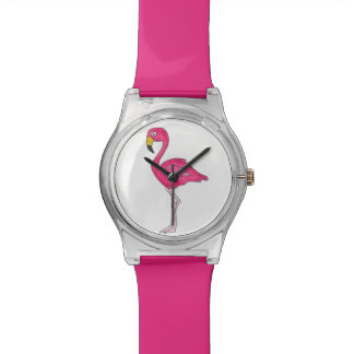 Hot Pink Flamingo Flamingos Tropical Bird Watch