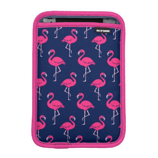 Hot Pink Flamingo Pattern iPad Mini Sleeves