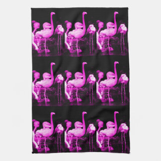 Hot Pink Flamingo Towel