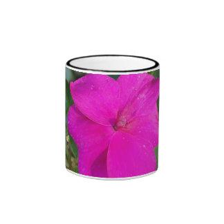 Hot pink flower Mug