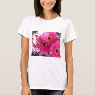 Hot Pink Flowers T-Shirt