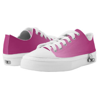 Hot Pink Frost Low Top Shoes Printed Shoes