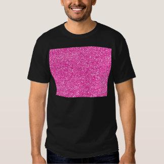 Hot Pink Glitter Tshirt