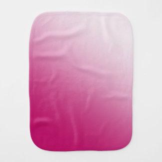 Hot Pink Gradient Burp Cloth