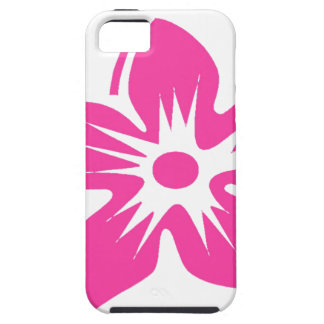Hot Pink Hawaiian Flower iPhone 5 Case