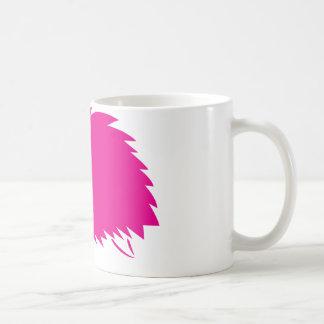 Hot Pink Hedgehog Basic White Mug