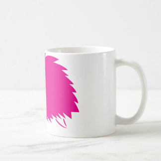 Hot Pink Hedgehog Coffee Mug