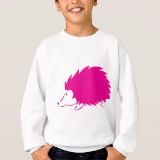 Hot Pink Hedgehog Sweatshirt