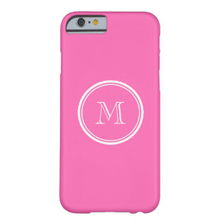Hot Pink High End Colored Personalized Barely There iPhone 6 Case