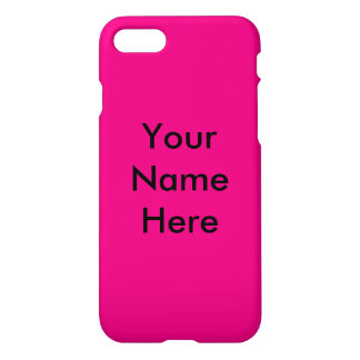 Hot Pink! iPhone 8/7 Case