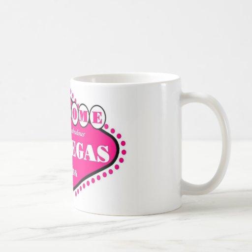 HOT PINK Las Vegas Sign Mug