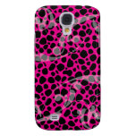 Hot Pink Leopard pern Samsung Galaxy S4 Case