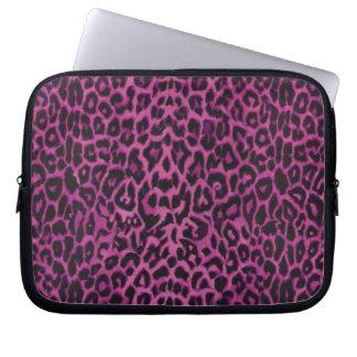 Hot Pink Leopard Skins Laptop Bag Laptop Sleeve