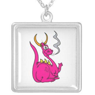 Hot Pink Little Dragon Cute.png Pendants