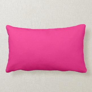 Hot Pink Lumbar Cushion